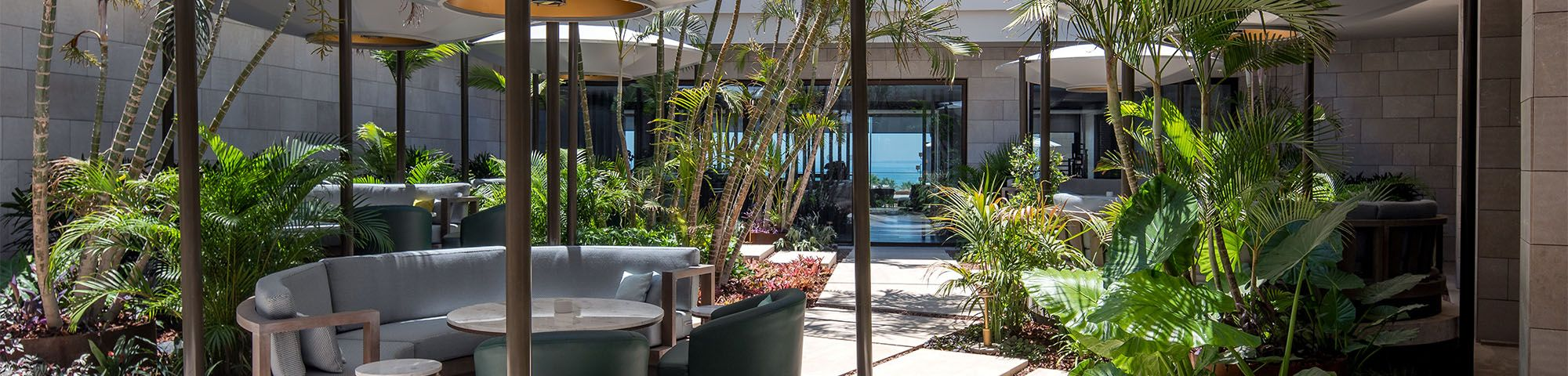 The Lobby Bar Garden By Day